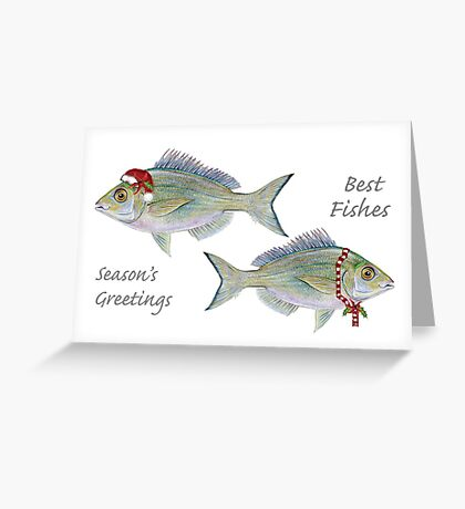 Best Fishes! Greeting Card