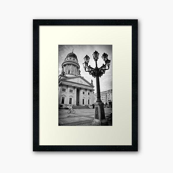 Die französische Kathedrale Gerahmter Kunstdruck