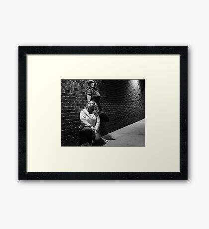 Best Friends going on 18 years! Framed Print