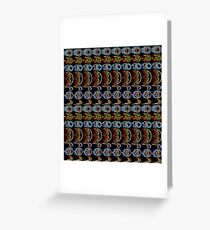 Street Fighter Projectile Tile Greeting Card