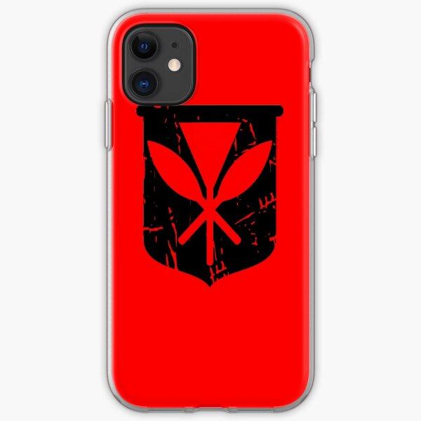Hawai'i Kanaka Maoli (black) by Hawaii Nei All Day iPhone Soft Case