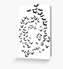 bats & butterflies  Greeting Card