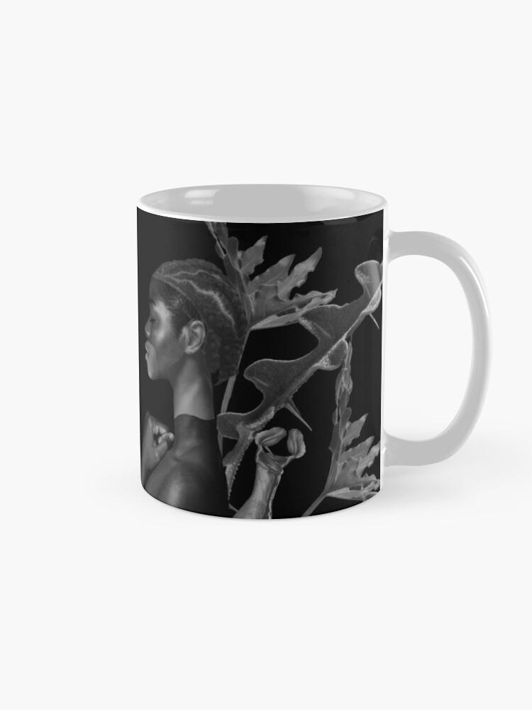 Alternate view of Rebirth of Self - butterfly, nature, metamorphosis Mug