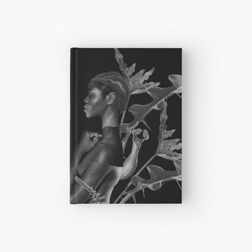 Rebirth of Self - butterfly, nature, metamorphosis Hardcover Journal
