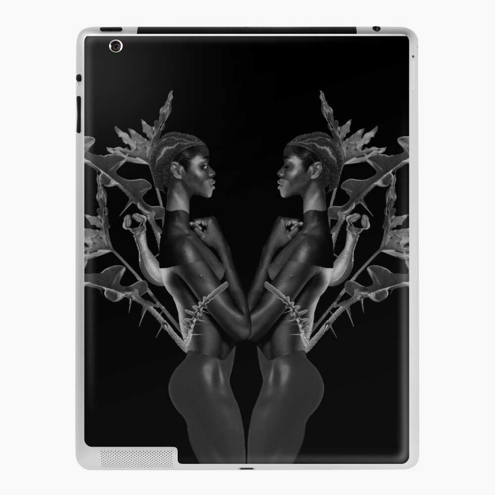 Rebirth of Self - butterfly, nature, metamorphosis iPad Case & Skin