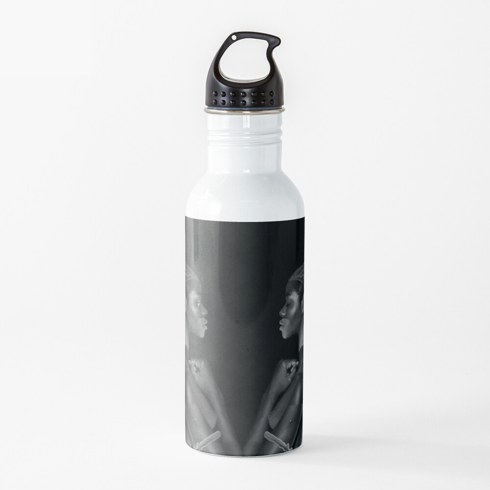 Rebirth of Self - butterfly, nature, metamorphosis Water Bottle