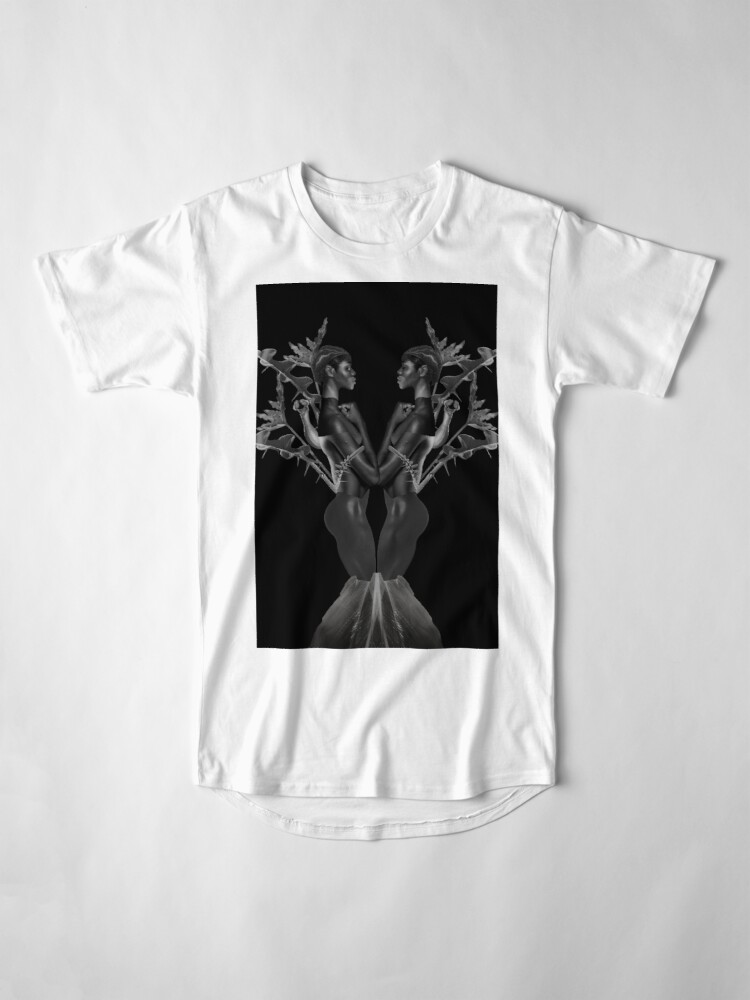 Alternate view of Rebirth of Self - butterfly, nature, metamorphosis Long T-Shirt