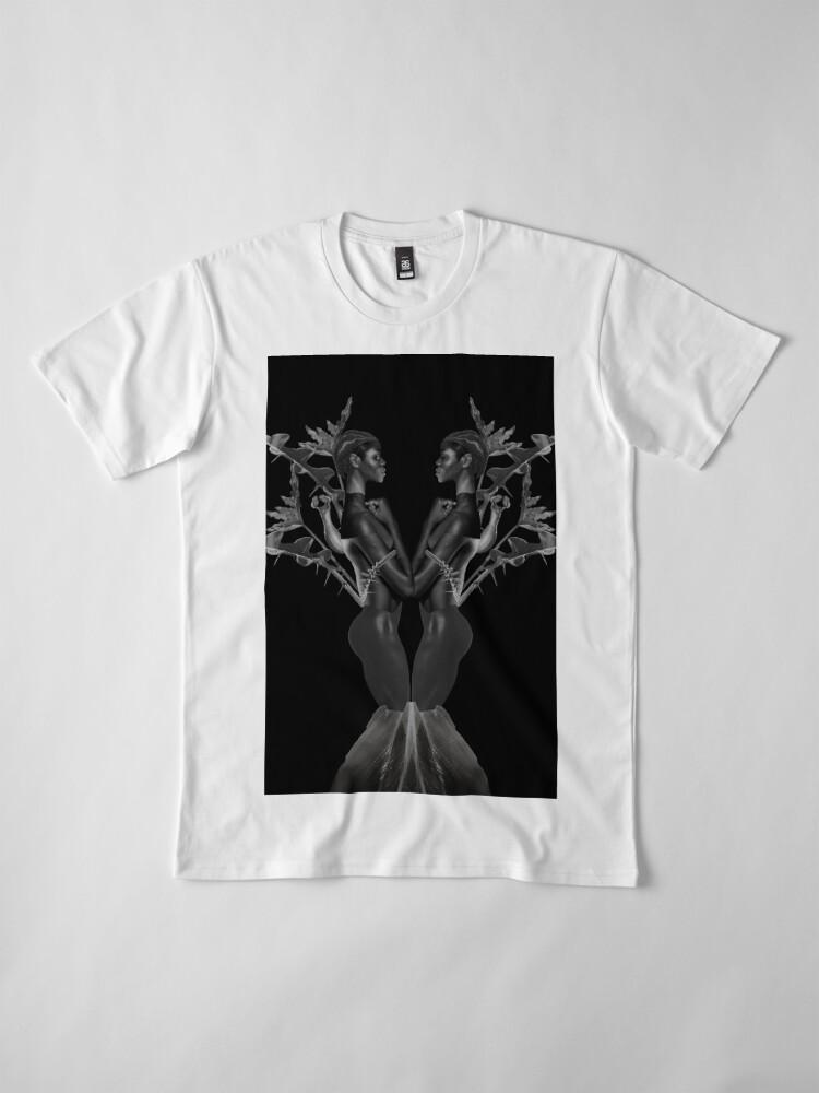 Alternate view of Rebirth of Self - butterfly, nature, metamorphosis Premium T-Shirt