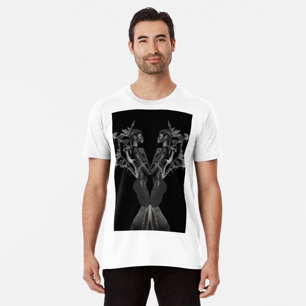 Rebirth of Self - butterfly, nature, metamorphosis Premium T-Shirt
