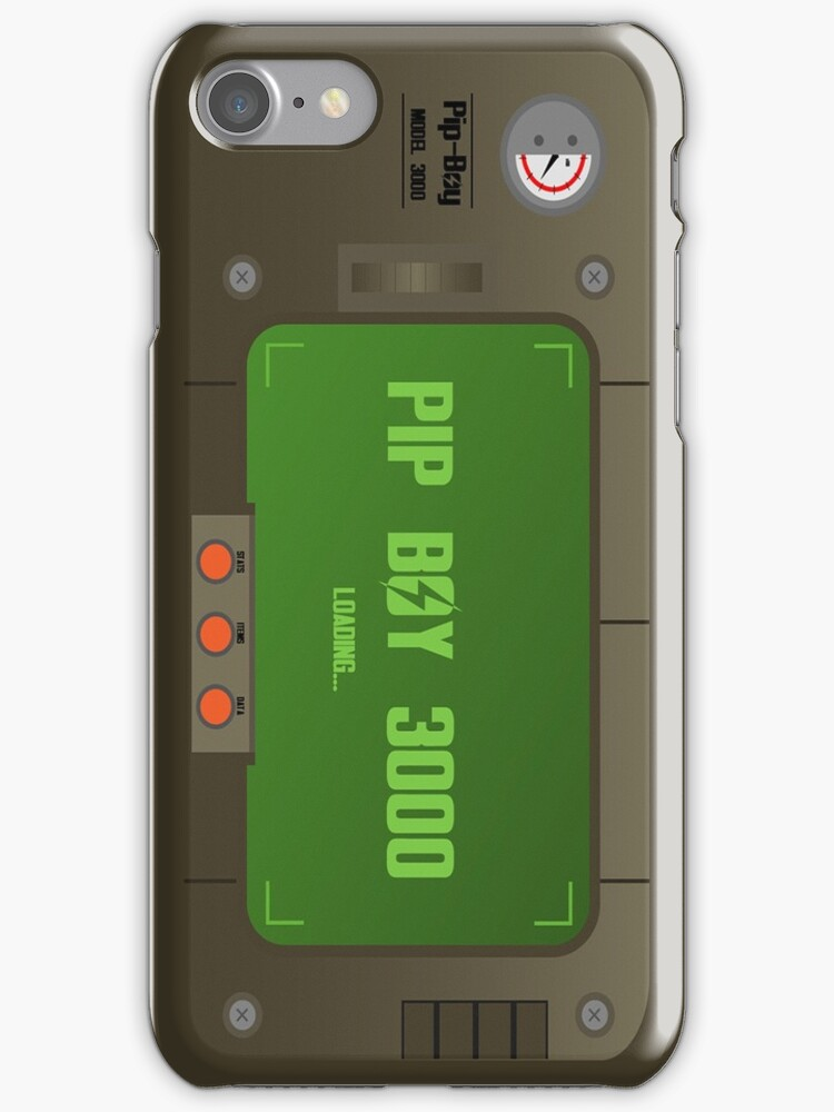 Pip Boy Iphone Case