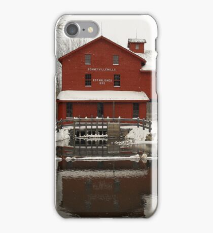 If you find you've crossed that line..Then it's time, a state of mind..Believe in what you see..Our sacrifice, reality..In these times you walk that line..these frozen times iPhone Case/Skin