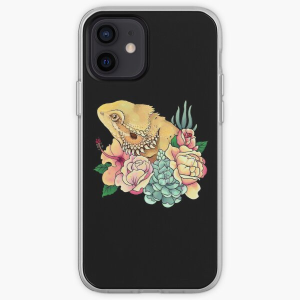 Pastel Bearded Dragon iPhone Soft Case