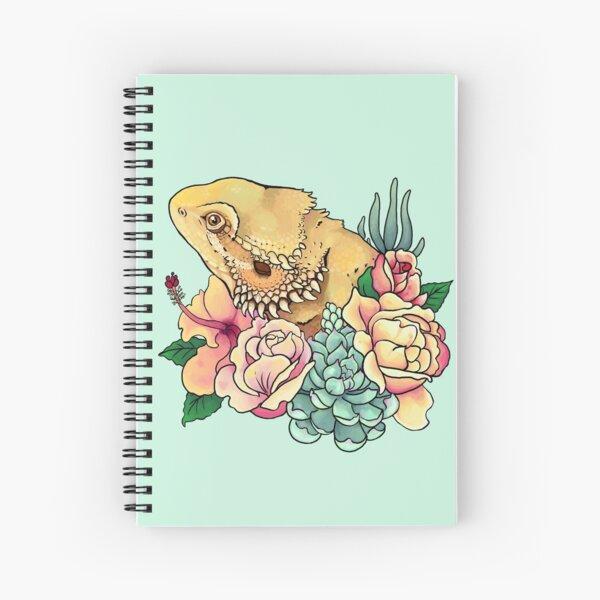 Pastel Bearded Dragon Spiral Notebook