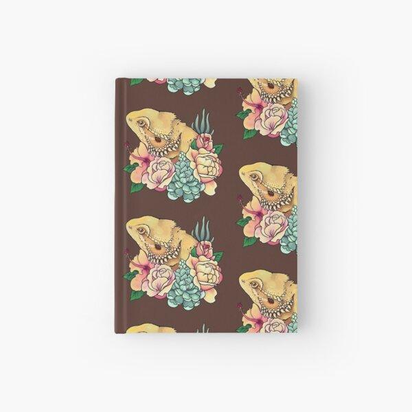 Pastel Bearded Dragon Hardcover Journal