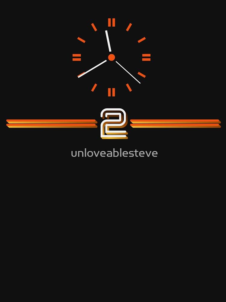 Retro BBC clock BBC2  | Unisex T-Shirt
