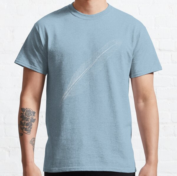 white feather Classic T-Shirt