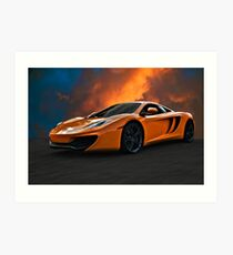 McLaren Art Print
