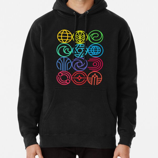 New Epcot Logos Version 2 Pullover Hoodie