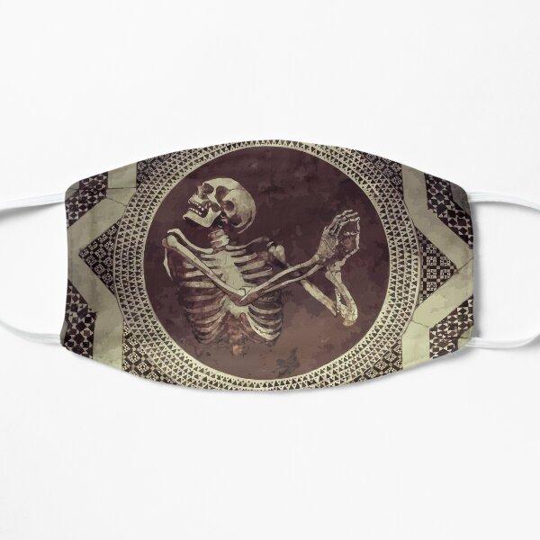 Hannibal: Dancing Skull + Skeleton Mosaic  Flat Mask