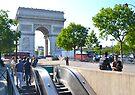 Arc de Triomphe de l'Étoile by Imagery