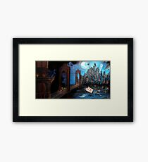 Watching over Gotham Framed Print