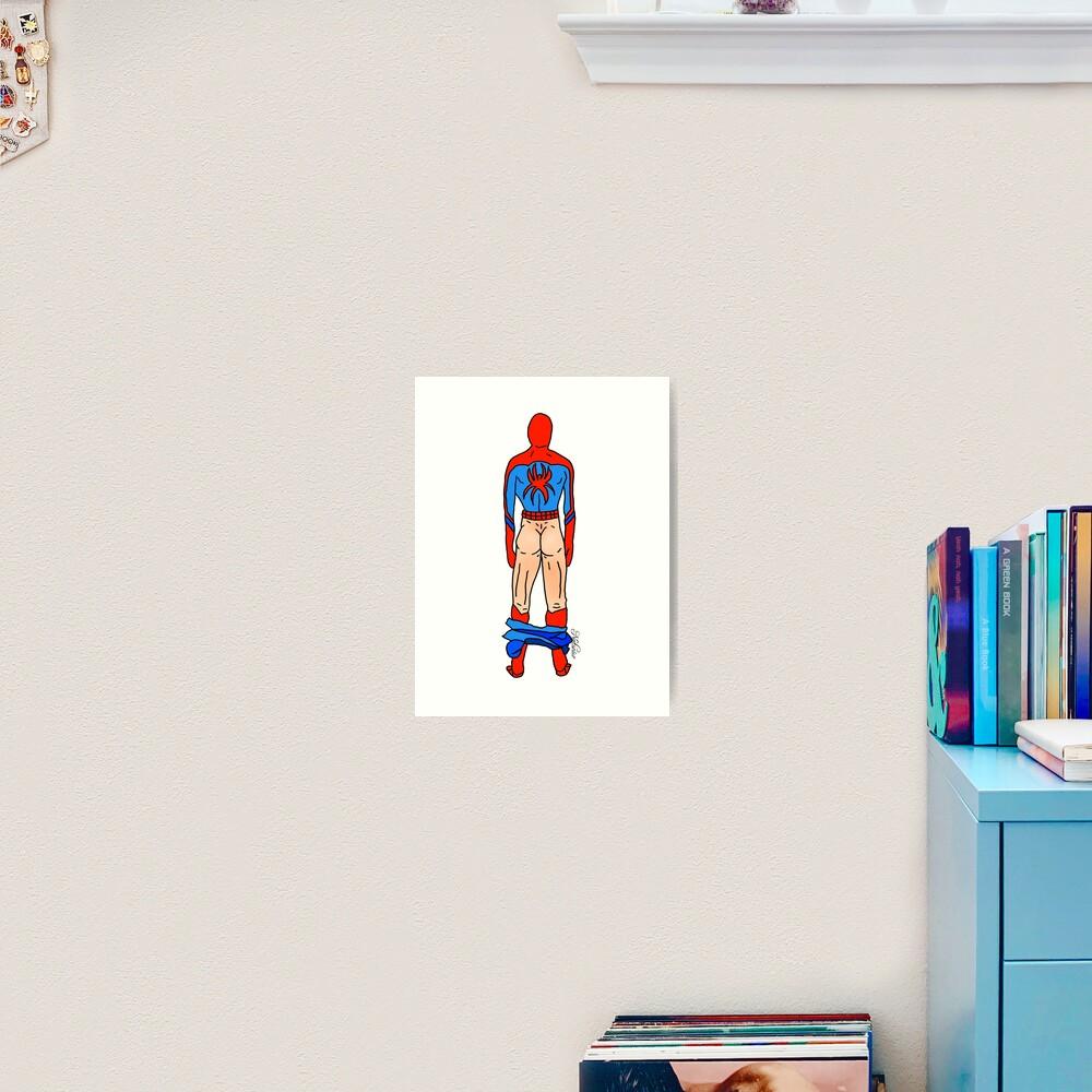 Spider Butt (Light) Art Print
