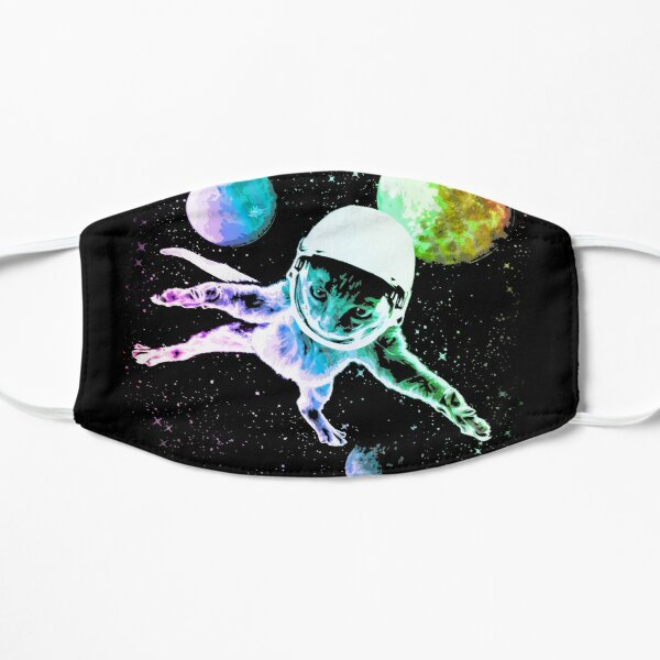Astronaut Kitty Cat in Space  Mask
