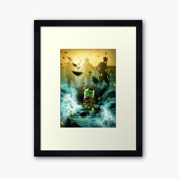 Serious Danger Framed Art Print