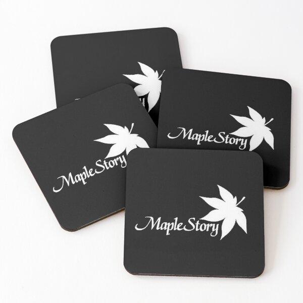 MapleStory Logo Coasters (Set of 4)