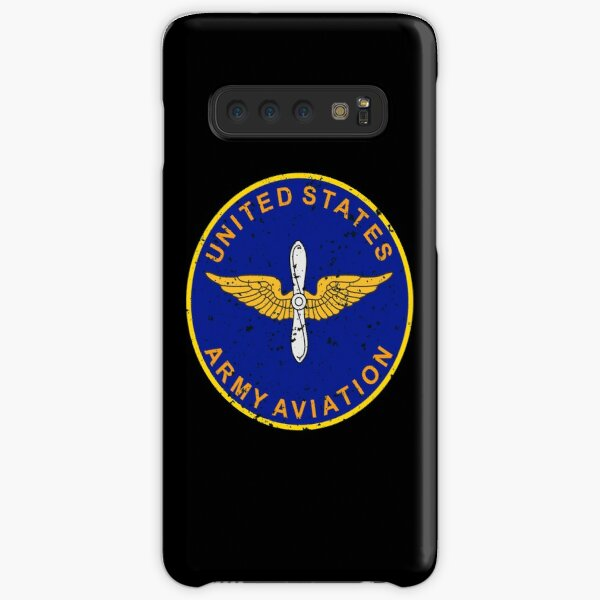 United States Army Aviation Vintage Insignia Samsung Galaxy Snap Case