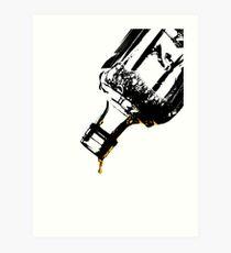 The Very Last Drop...  Art Print