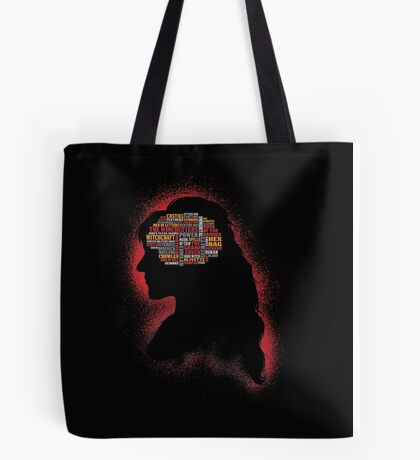Phrenology of a witch  Tote Bag