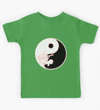 yin yang guitarist  Kids Clothes
