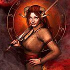 Aries from my Fantasy Zodiac Circle by Britta Glodde