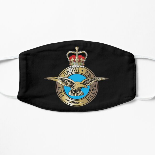 "Royal Air Force ""Per Ardua Ad Astra"" Insignia Mask"
