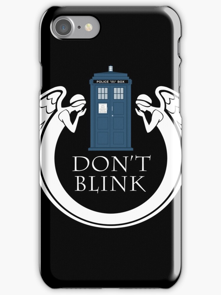doctor Who angels TARDIS tenth doctor  by nouvellegamine