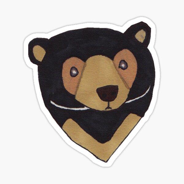 Sun Bear Sticker