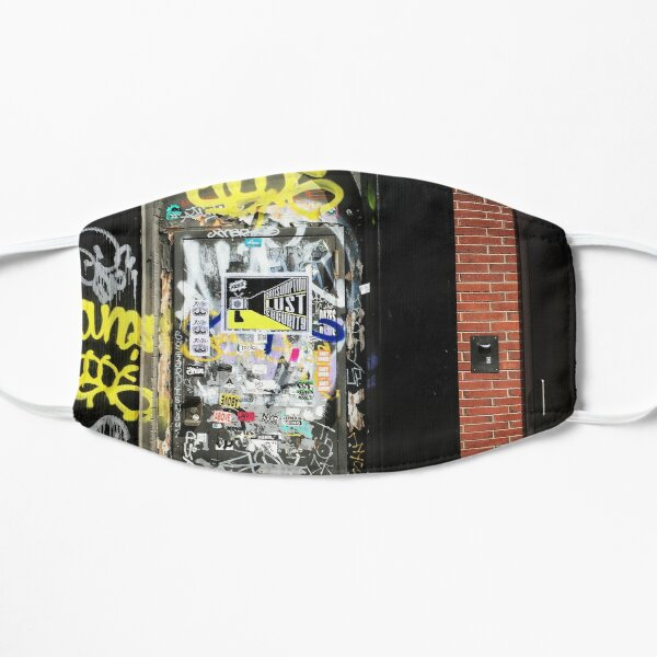 Funky Graffiti Wall Mask