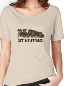 Sit Happens Women's Relaxed Fit T-Shirt