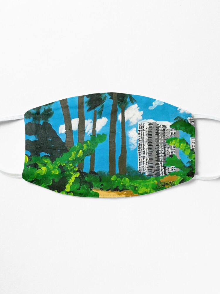 Alternate view of Walk to the Beach Mask