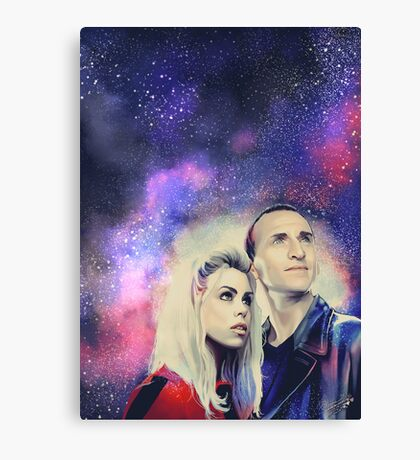 9TH and Rose Canvas Print