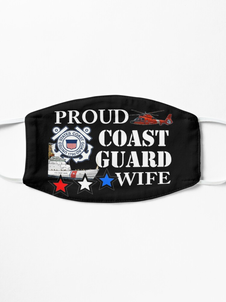 Alternate view of Proud CG Wife Design by MbrancoDesigns Mask