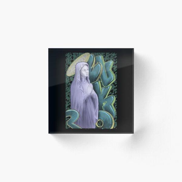 Madone / Mad-one Acrylic Block