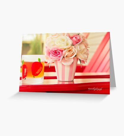 Rest and Relaxation Greeting Card