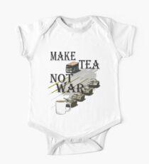 make tea not war One Piece - Short Sleeve