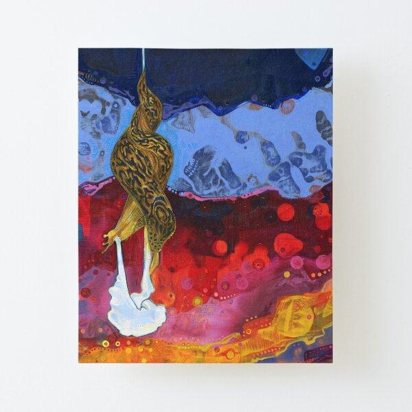 Leopard Slug Painting - 2012 Canvas Mounted Print