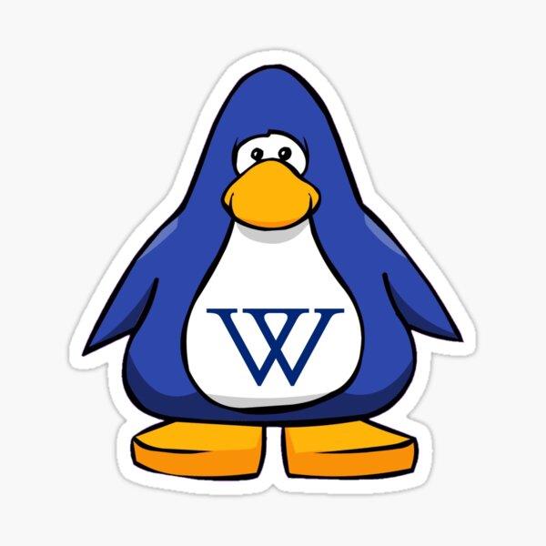 Wellesley Club Penguin Sticker