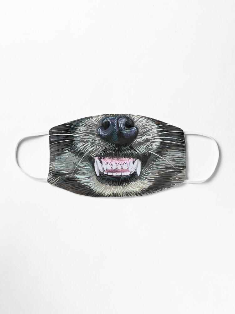 Alternate view of Trash Panda Face Mask Mask