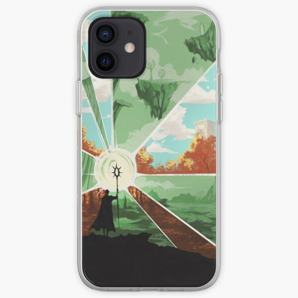 the world that wakes and the world that dreams iPhone Soft Case