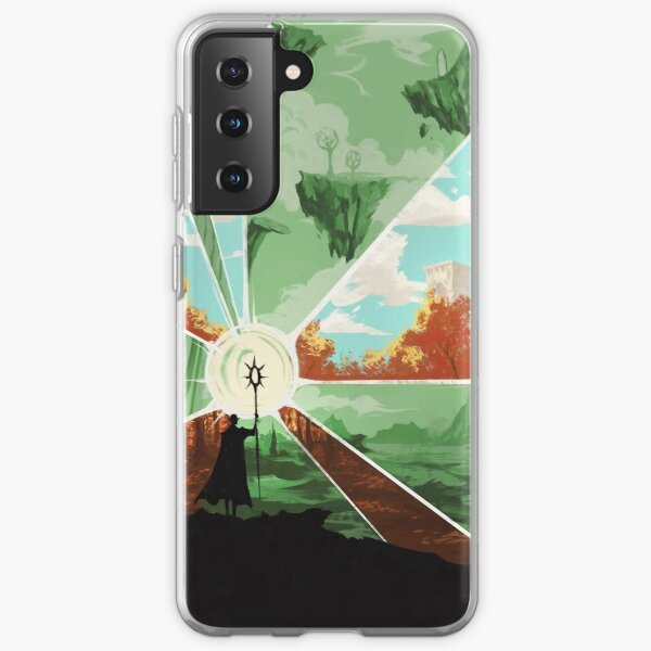 the world that wakes and the world that dreams Samsung Galaxy Soft Case